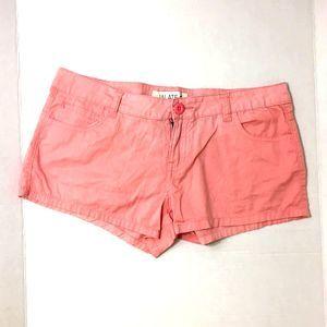JALATE Coral Pink Summer Shorts